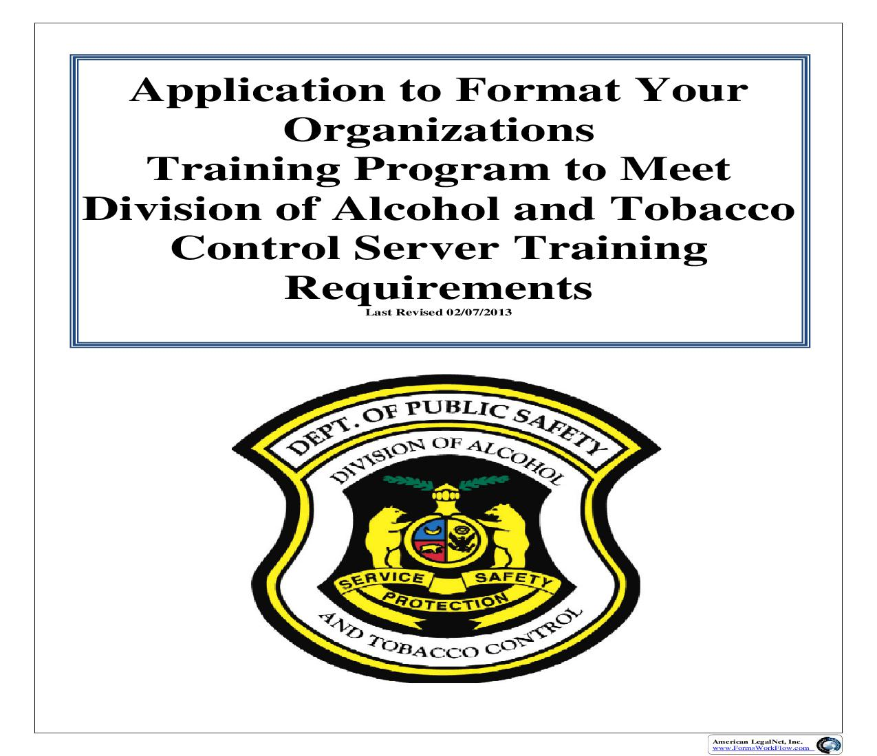 Licensee Employee Server Training | Pdf Fpdf Doc Docx | Missouri